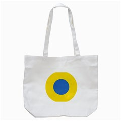 Ukrainian Air Force Roundel Tote Bag (White)