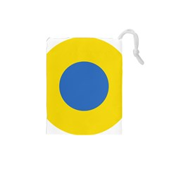 Ukrainian Air Force Roundel Drawstring Pouches (Small)
