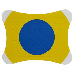 Ukrainian Air Force Roundel Jigsaw Puzzle Photo Stand (Bow)
