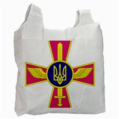 Emblem of The Ukrainian Air Force Recycle Bag (Two Side)