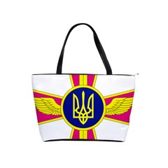 Emblem of The Ukrainian Air Force Shoulder Handbags