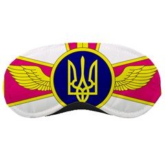Emblem of The Ukrainian Air Force Sleeping Masks