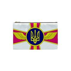 Emblem of The Ukrainian Air Force Cosmetic Bag (Small)