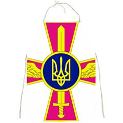 Emblem of The Ukrainian Air Force Full Print Aprons