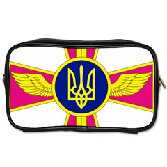 Emblem of The Ukrainian Air Force Toiletries Bags 2-Side