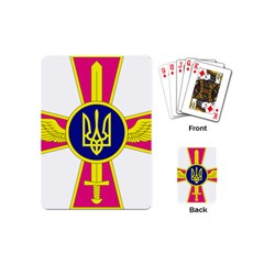 Emblem of The Ukrainian Air Force Playing Cards (Mini)