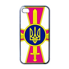 Emblem of The Ukrainian Air Force Apple iPhone 4 Case (Black)