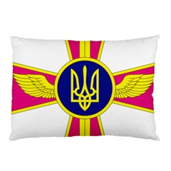 Emblem of The Ukrainian Air Force Pillow Case (Two Sides)