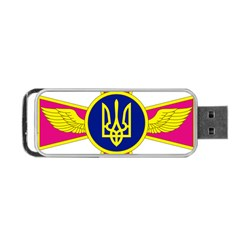 Emblem of The Ukrainian Air Force Portable USB Flash (Two Sides)