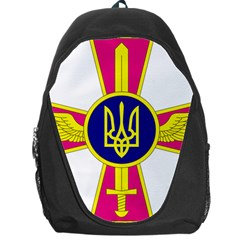 Emblem of The Ukrainian Air Force Backpack Bag