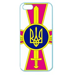 Emblem of The Ukrainian Air Force Apple Seamless iPhone 5 Case (Color)