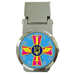 Ensign of The Ukrainian Air Force Money Clip Watches