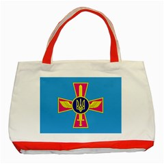 Ensign of The Ukrainian Air Force Classic Tote Bag (Red)