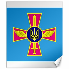 Ensign of The Ukrainian Air Force Canvas 8  x 10