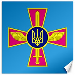 Ensign of The Ukrainian Air Force Canvas 12  x 12
