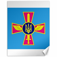 Ensign of The Ukrainian Air Force Canvas 12  x 16