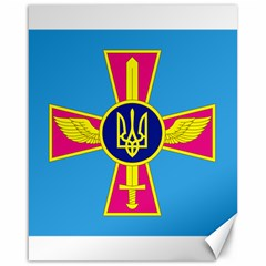 Ensign of The Ukrainian Air Force Canvas 16  x 20