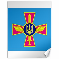 Ensign of The Ukrainian Air Force Canvas 18  x 24