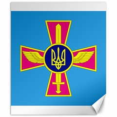 Ensign of The Ukrainian Air Force Canvas 20  x 24