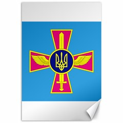 Ensign of The Ukrainian Air Force Canvas 24  x 36