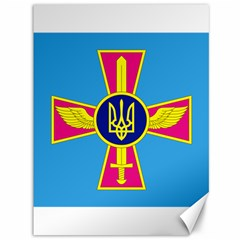 Ensign of The Ukrainian Air Force Canvas 36  x 48