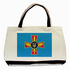 Ensign of The Ukrainian Air Force Basic Tote Bag (Two Sides)