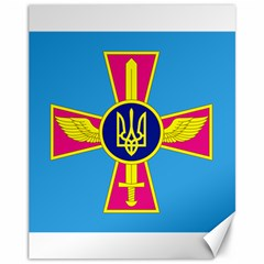 Ensign of The Ukrainian Air Force Canvas 11  x 14