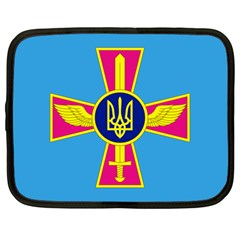 Ensign of The Ukrainian Air Force Netbook Case (Large)