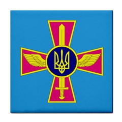 Ensign of The Ukrainian Air Force Face Towel