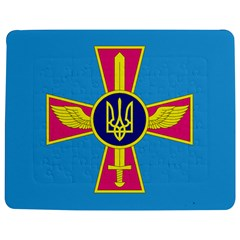 Ensign of The Ukrainian Air Force Jigsaw Puzzle Photo Stand (Rectangular)