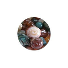 Rain Flower Stones Is A Special Type Of Stone Golf Ball Marker (4 Pack)