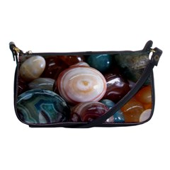 Rain Flower Stones Is A Special Type Of Stone Shoulder Clutch Bags