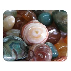 Rain Flower Stones Is A Special Type Of Stone Double Sided Flano Blanket (large)