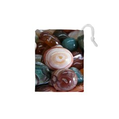 Rain Flower Stones Is A Special Type Of Stone Drawstring Pouches (xs)