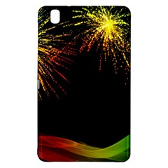 Rainbow Fireworks Celebration Colorful Abstract Samsung Galaxy Tab Pro 8 4 Hardshell Case