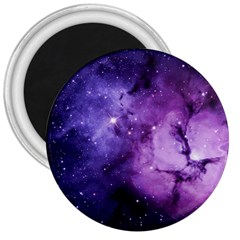 Purple Space 3  Magnets