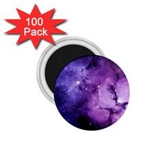 Purple Space 1 75  Magnets (100 Pack)