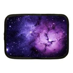 Purple Space Netbook Case (medium)