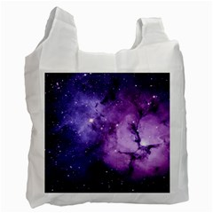 Purple Space Recycle Bag (one Side)