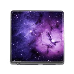 Purple Space Memory Card Reader (square)