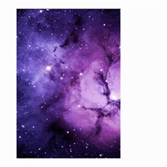Purple Space Small Garden Flag (two Sides)