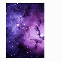 Purple Space Large Garden Flag (two Sides)