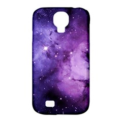 Purple Space Samsung Galaxy S4 Classic Hardshell Case (pc+silicone)