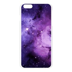 Purple Space Apple Seamless iPhone 6 Plus/6S Plus Case (Transparent)