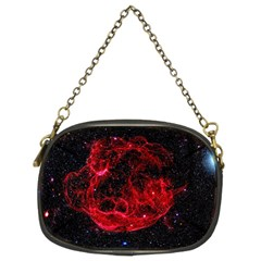 Red Nebulae Stella Chain Purses (two Sides)