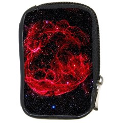 Red Nebulae Stella Compact Camera Cases