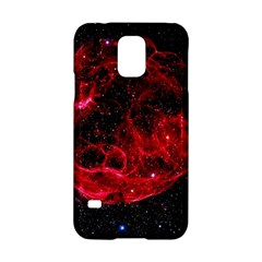 Red Nebulae Stella Samsung Galaxy S5 Hardshell Case