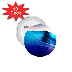 Rolling Waves 1 75  Buttons (10 Pack)