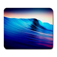 Rolling Waves Large Mousepads