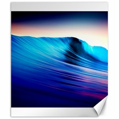 Rolling Waves Canvas 20  X 24